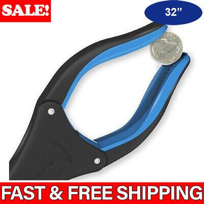 Heavy Duty Grabber Tool Industrial Pick Up Reacher Stick Hand Grip Trash -