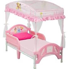 Disney Princess Toddler Bed (with Canopy) Kelmscott Armadale Area Preview