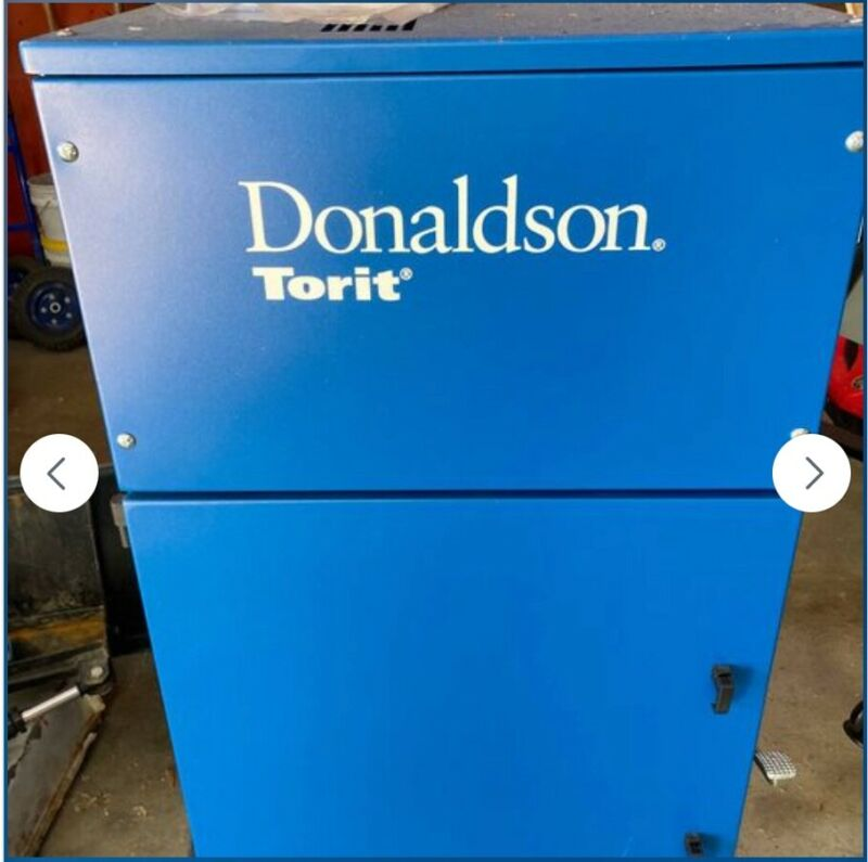 3 HP Donaldson Torit Dust Collector. **New**