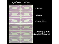 Eyeliner stickers £2 for 12 pairs of stickers as shown
