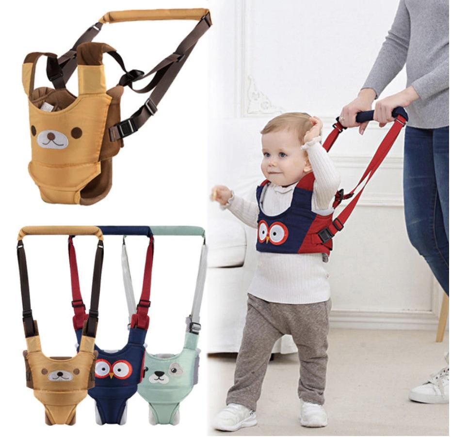 Baby Walker Toddler Safety Belt Harness Assistant Backpack W