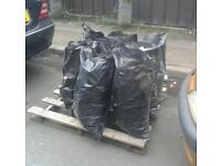 Free Rubble Hardcore Broken Bricks etc. Bagged ready to collect