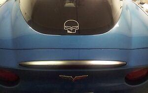 Corvette Jake Skull vinyl Decal Sticker C5 C6 Z06