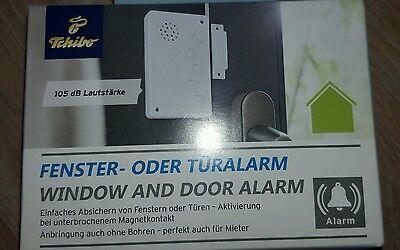 TCM Tchibo Fensteralarm Türalarm Alarm Fenster Tür Sicherheit Neu und OVP