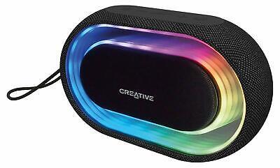 Halo Bluetooth (Creative Halo Bluetooth Wireless RGB Lautsprecher LED Speaker Soundbox 1473)
