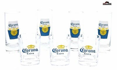 Corona Extra Shot Glass Shooters ~ New](Shot Glass Bulk)