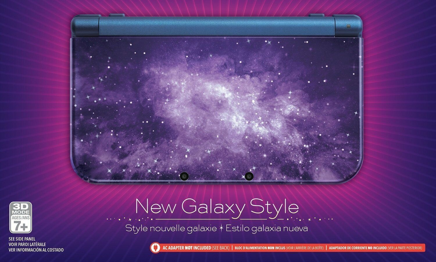 Nintendo New 3DS XL - Galaxy Style Brand New