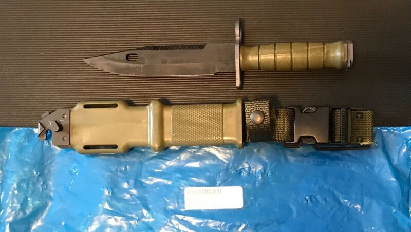 M9 Knife Bayonet  Tri-Technologies USA Military Issue in Sealed Bag