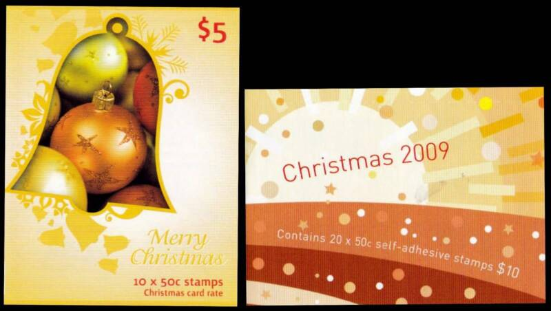 Xmas 2009 Set Of 2 Australia Post Stamp Booklets Unfolded Collectables Gumtree Australia Gungahlin Area Crace 1248905495