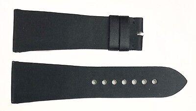 Authentic Cartier Divan 25MM x 19MM Black Satin Watch Bands 1A6INE01