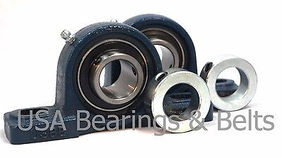 Qty 258 Premium Pillow Block Bearings Ucp202-10 2 Solid Shaft Collars