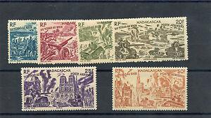 MADAGASCAR-Sc-C45-50-YT-A66-71-F-VF-NH-55