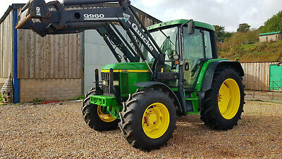 John Deere 6410 Premium Tractor Quicke loader Q960