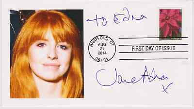 SIGNED JANE ASHER FDC AUTOGRAPHED FIRST DAY COVER PAUL McCARTNEY - COA