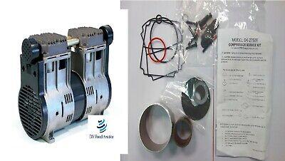 New Oem Sk-2750t Service Kit Thomas Model 2750t High Psi Compressor Rebuild Kit