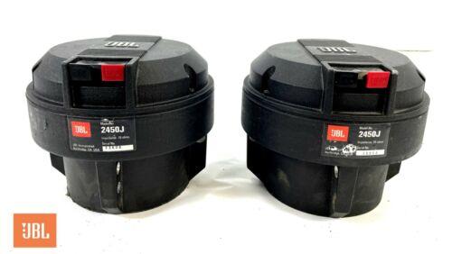 JBL 2450J Neodymium Horn Drivers Genuine JBL Diaphragms Close DCR