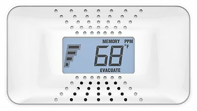 3 Pack Bundle of First Alert Carbon Monoxide Alarm with Temp