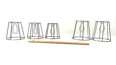 Custom Made Lamp Shades - Lamp Shades Wire Frames Set of 2 and Set of 3 Custom Made NYC