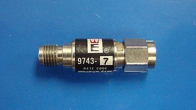 Weinschel 9743-7 Fixed Attenuator 7db Dc-12.4ghz 2w Sma
