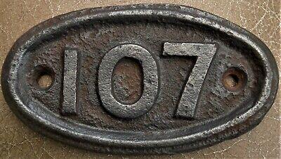 Antique - Vintage - Genuine & Original Cast Iron House Door No 107 FREE UK POST