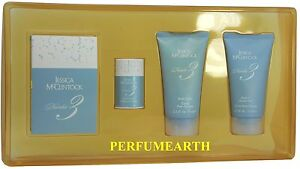 NUMBER 3 BY JESSICA McCLINTOCK 4 PCS BEAUTY SET FOR WOMEN