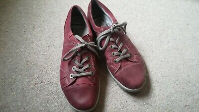 Josef Seibel  Lace Up Casual Shoes Trainers red Size 39/6
