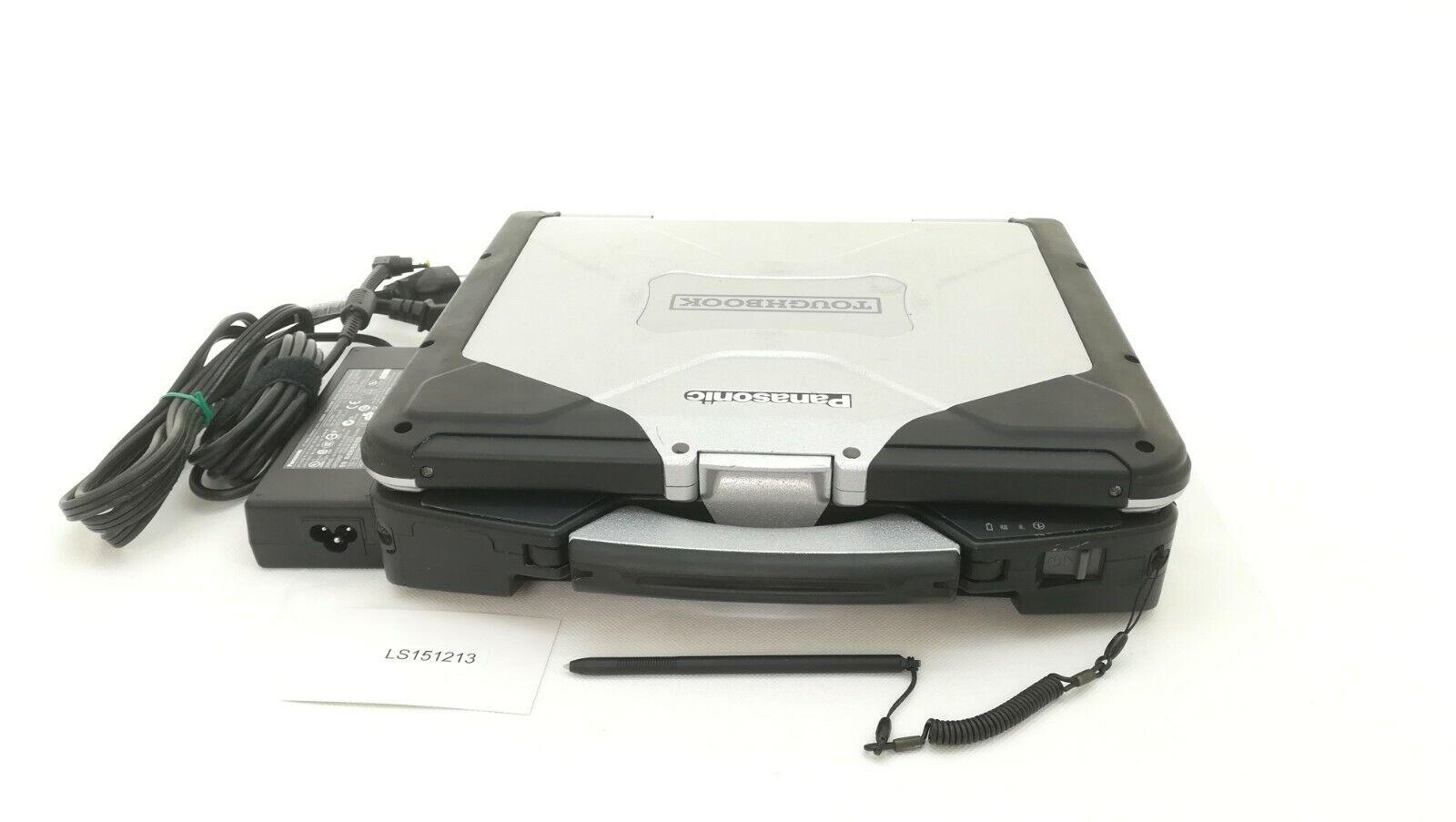 "Panasonic Toughbook CF31 MK3 I5-3380M 2.9GHz 8GB 500GB 13.1"" Touch screen Win 10"