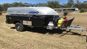 RANGER off road CAMPER TRAILER - HARD FLOOR - as new Wilby Moira Area Preview