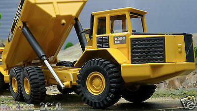 VOLVO A35C MOXY DUMP TRUCK DIECAST JOAL 238 1:50 SCALE IN BOX