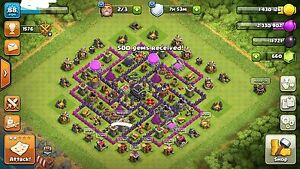 Clash of clans base town hall 9