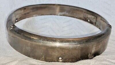 1940s Jewelry Styles and History 1940s 1950s CHEVY FORD DODGE HEADLIGHT TRIM RING 8