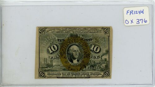 Fractional Currency - FR-1244 10 Cents # 639