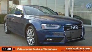 2013 Audi A4 2.0T Premium MP3, SiriusXM, Sunroof, Leather sea...