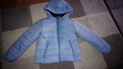 Jungen Gefütterte Jacke (Lupilu Jacke Hellblau Blau leicht gefüttert Jungen 110 )