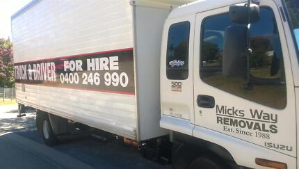 Micks Way Removals Calwell Tuggeranong Preview
