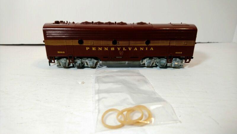 Athearn HO Train Pennsylvania Railroad F7B Powered Band Drive Diesel Locomotive