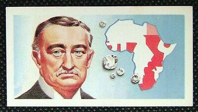 1 x Brooke Bond Tea Famous People Cecil Rhodes Blue 1969 No 17