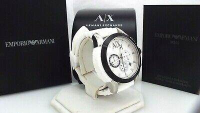 Armani Exchange - AX1225 - Quartz - Silicone - Men's Chronograph Watch ~#3068