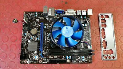 SCHEDA MADRE MSI H81M-P33 SOCKET 1150 + CPU + DISSIP. + VENT. + CASE