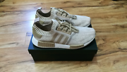 Adidas NMD R1 Linen Khaki Beige Tan PK Primeknit 7.5 11  Canning Vale Canning Area Preview