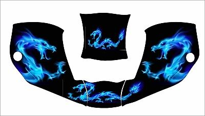 Miller Digital Infiniti 271329 Welding Helmet Wrap Decal Sticker Infinity Dragon