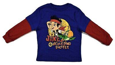 Jake And The Neverland Pirates Shirts (Disney Toddler Jake And The Neverland Pirates Shirt New Size)
