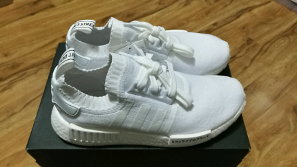 Adidas NMD R1 Japan Pack Boost Triple White US7.5, 8.5, 9.5