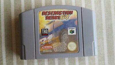 Destruction derby Nintendo 64 Pal