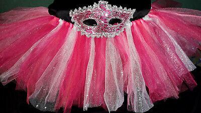 HOT PINK Glitter Adult TuTu Mardi Gras Masquerade - New Orleans Kostüme