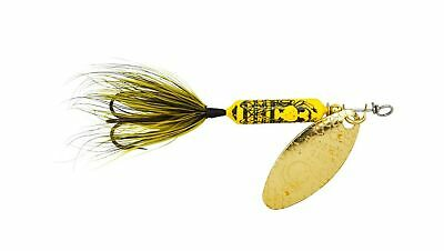 Wordens Original Yakima Bait 1//4 oz Strobe Rainbow Rooster Tail Fishing Lure