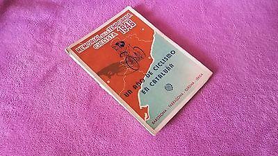 MEMORIAL DE LA TEMPORADA CICLISTA 1946 BARCELONA, TARRAGONA, GERONA, LERIDA 1946
