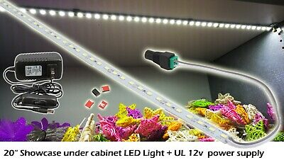 Showcase Under Cabinet Led Light 6000k 20 Ul Power Supply Onoff Switch