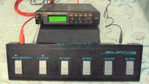 Yamaha FX550 Guitar Effects Processor w/ Yamaha MFC06 pedalboard