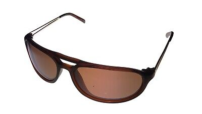 Donald Trump Mens Sunglass Brown Plastic Aviator, Brown Polarized Lens DTS 6  #2